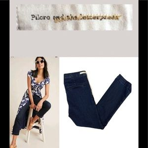 Pilcro and the letterpress High rise denim legging